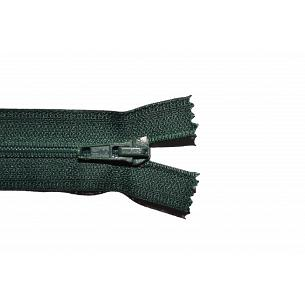 Picture of Bottle Green Nylon Open End Zip