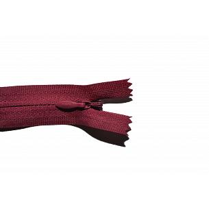 Picture of Invisible Concealed Closed End Zip 527 Burgundy