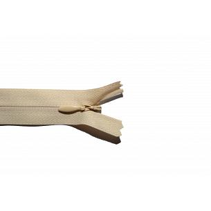 Picture of Invisible Concealed Closed End Zip 551 Light Honey Beige