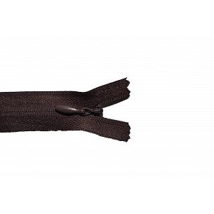 Picture of Invisible Concealed Closed End Zip 570 Dark Brown