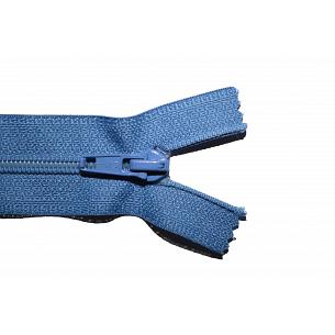 Picture of Mid Blue Nylon Open End Zip
