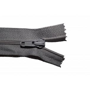 Picture of Mid Grey Nylon Open End Zip