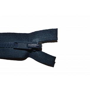 Picture of Chunky Plastic Open End Navy Blue Reversable Zips