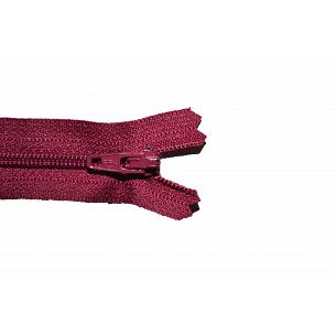 Picture of Wine Red Nylon Closed End Dress Zips -525