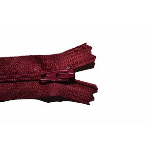 Picture of Burgundy Nylon Closed End Dress Zips -527