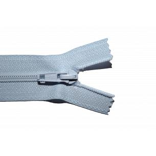 Picture of Pale Blue Nylon Open End Zip