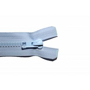 Picture of Pale Blue Chunky Plastic Open End Zips