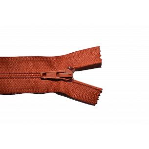 Picture of Rust Brown Nylon Open End Zip