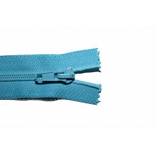 Picture of Sea Blue Nylon Open End Zip
