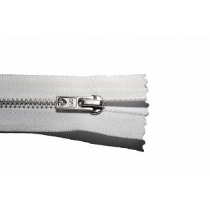 Picture of White Nickel Closed End Trouser Zips