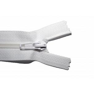 Picture of White Nylon Open End Zip