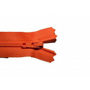 Picture of Orange Nylon Closed End Dress Zips -523