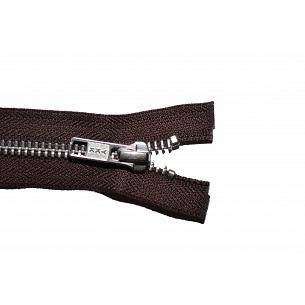 Picture of Brown YKK Metal Open End Zips