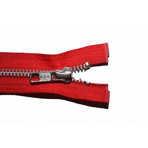 Picture of Red YKK Metal Open End Zips